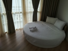 Saigon, rundes Bett