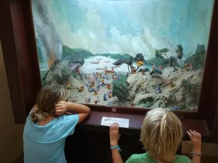 Schaukasten im Museum