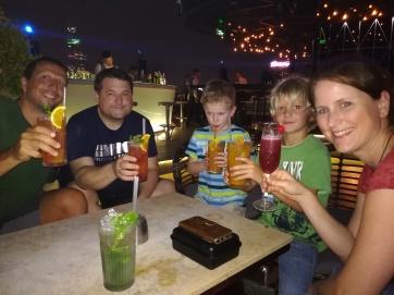 Saigon, Cocktails auf dem Hochhaus