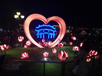 Hoi An, Lichterschmuck bei Nacht