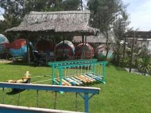 Spielbereich im Beachside