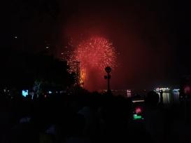 Feuerwerk in Da Nang