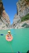 Kajaktour in den Pyrenäen
