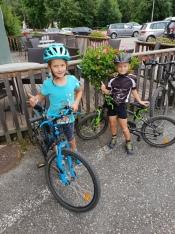 Geschafft: Nach 60 Kilometern Ankunft in Spittal