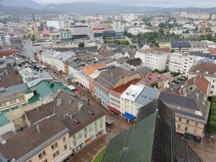 Panorama vom Kirchturm aus