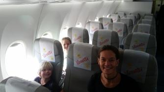 Wo sind bloß die anderen Fluggäste?