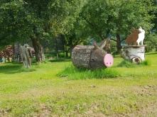Schwein am Wegesrand