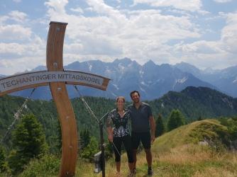 Giplelkreuz auf österreichischer Seite