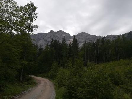 Berge bei Jezersko