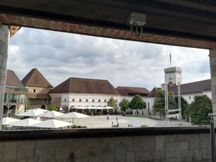Burg von Ljubiljana