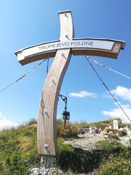 Giplelkreuz auf slowenischer Seite