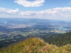 Blick Richtung Villach