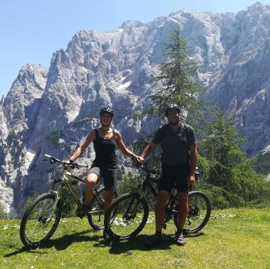 Fast oben - auf dem höchsten Gebirgspass Sloweniens