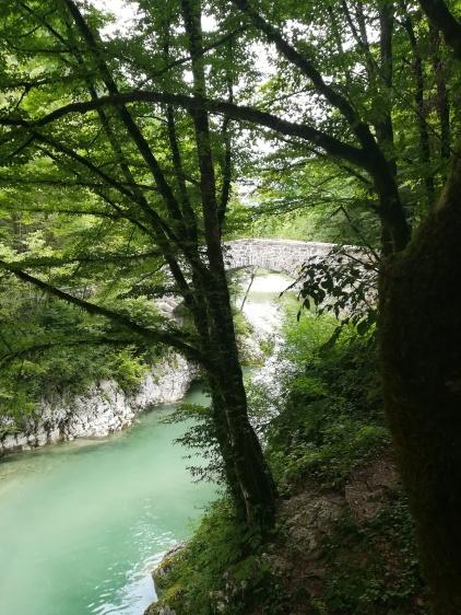 Naopleonbrücke über die Nadiza